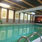 Wellnessbereich Schwimmbecken