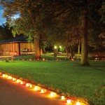 Kurpark bei Nacht